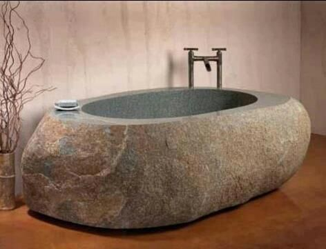 Jmasterd: U201c Interior Design Home: U201c Natural Stone Bathtub By Stone Forest  Stone Forestu0027s Natural Bathtub Is Carved From A Single Block Of Granite Or  Marble ... Pictures Gallery