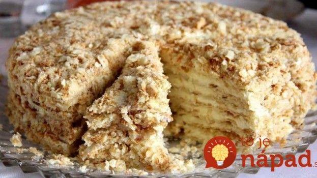 Nemusíte zapínať rúru: Famózna orechová torta zo Salka, ktorú pripravíte na panvici!
