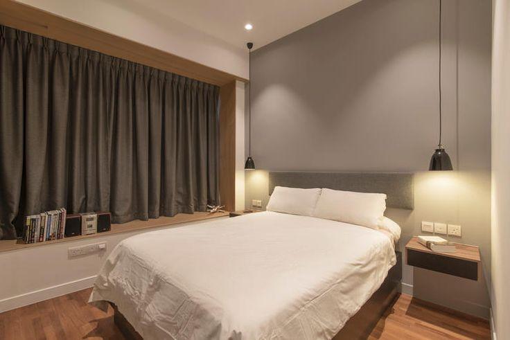 renovation, interior design, eightytwo, scandinavian, style, home, singapore, 40000, condo, bedroom
