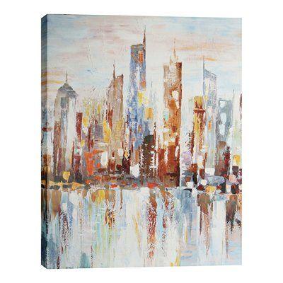 Hobbitholeco IMP4775 Spectral City Canvas Art