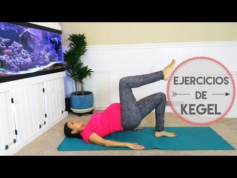 Ejercicios para Embarazadas - Fuerza en suelo pélvico - Kegel - YouTube