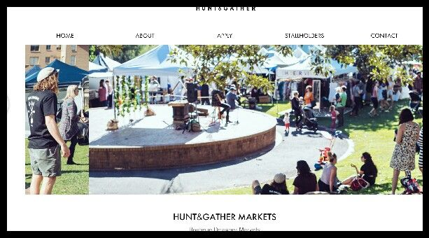 Hunt and gather markets - pacific park - 3rd saturday of the month