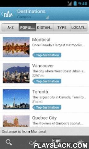 World Travel Guide By Triposo  Android App - playslack.com ,  One travel guide for the whole world. It's free and works offline. Get inspired by the suggestions provided by our app based on your location, the weather, etc. Handy maps are always useful for finding your way.Features of our Android travel guide:- Pick a country or major city to download its guide.- A downloaded guide works offline, without an internet connection.- The app is a self starter, it suggests you things to see and…