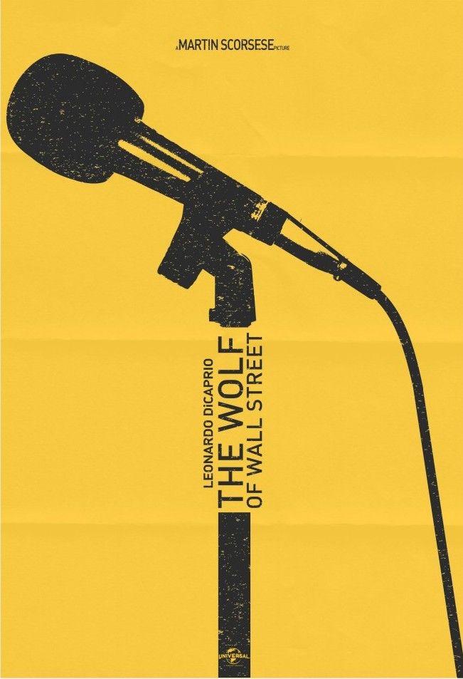 The Wolf of Wall Street (2013) ~ Minimal Movie Poster by Luke Harrison #amusementphile