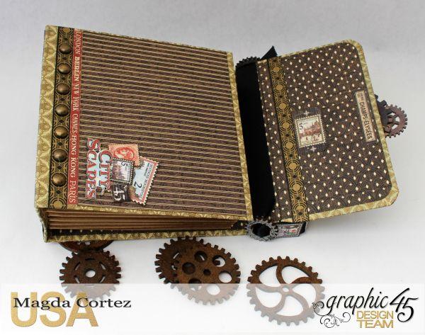 Cityscapes Mini Album, CityScapes, Magda Cortez, Product by Graphic 45…