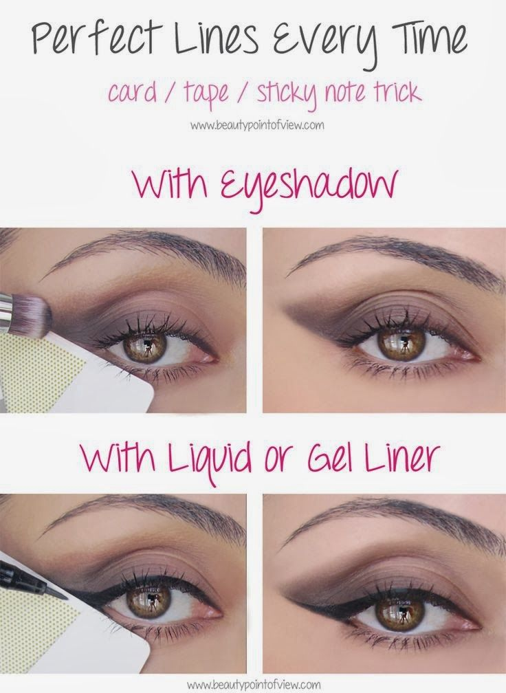 Beauty,diy eye line