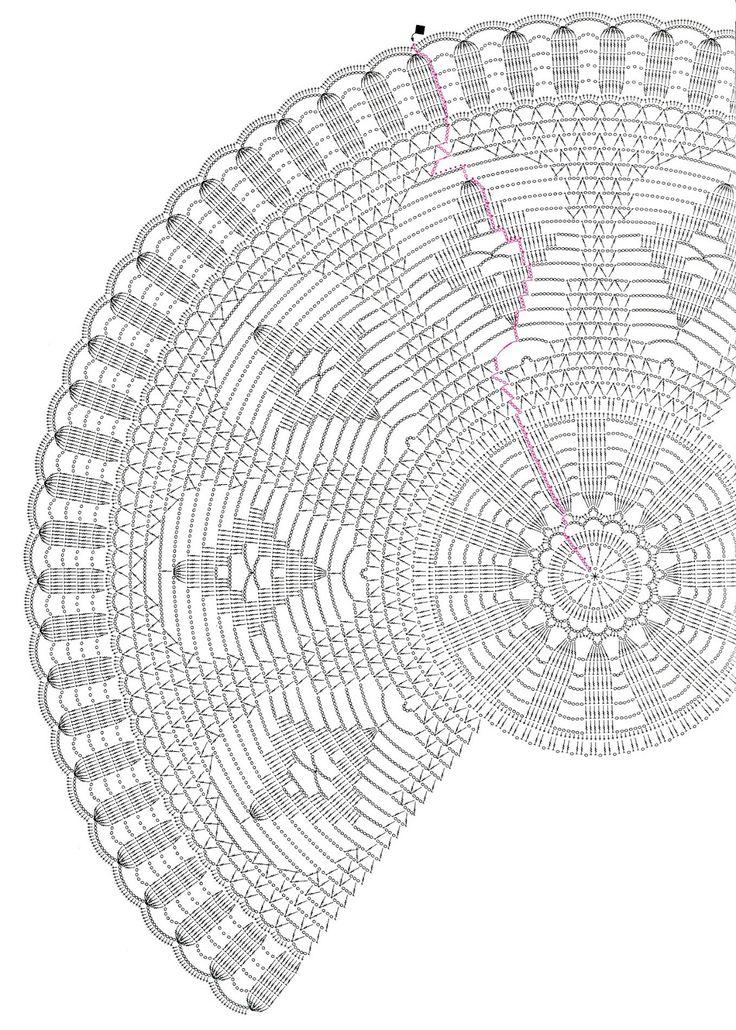 1000 images about crochet doilies diagram on pinterest. Black Bedroom Furniture Sets. Home Design Ideas