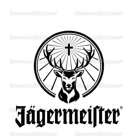 Unofficial Jagermeister Logo Design Jagermeister Clipart Vector Metal Logo Design Logo Design Custom Logo Design