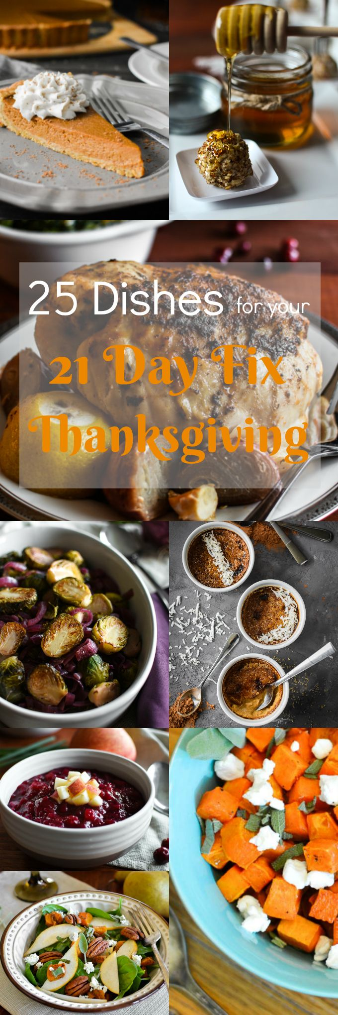 25 Thanksgiving recipes that are all 21 Day Fix-approved, with container counts!