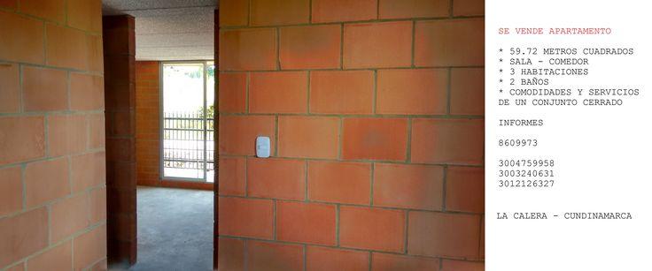 Venta de apartamento. Conjunto residencial el portico, en La Calera, Cundinamarca. Para estrenar.
