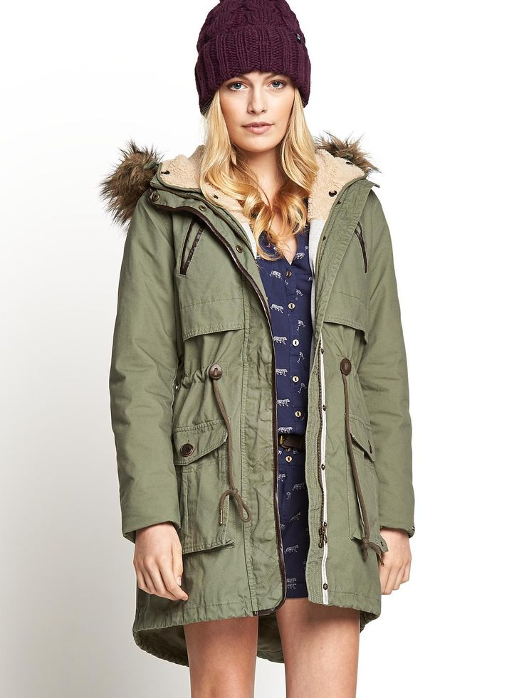 hilfiger denim odella parka very cosy coats. Black Bedroom Furniture Sets. Home Design Ideas