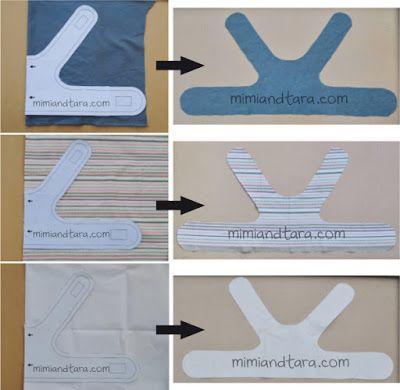DYI Dog Harness -cut vest pattern