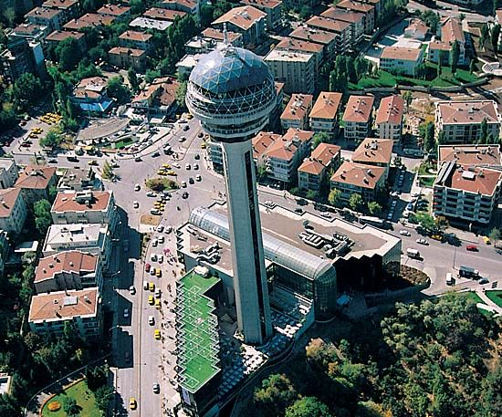 View of Ankara, Turkey (Bilkent University)