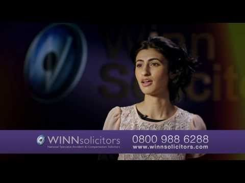 Winns are number one for young drivers who've had a non-fault accident.  We work on a no win, no fee basis and pursue the other party's insurer, which means you'll have no excess to pay!  To see how Winns can help you too, please visit: http://www.winnsolicitors.com/youngdrivers/
