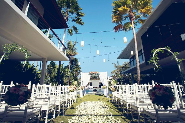 Our villa wedding set up #villaweddings - #weddings - #weddingceremony - #baliweddings - #baliweddingplanners - http://lilyweddingservices.com/