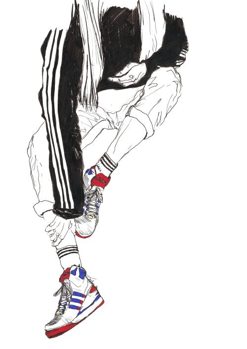 17 Best Images About Sneakers Illustration Amp Dseign On Pinterest Adidas Sneakers Behance And