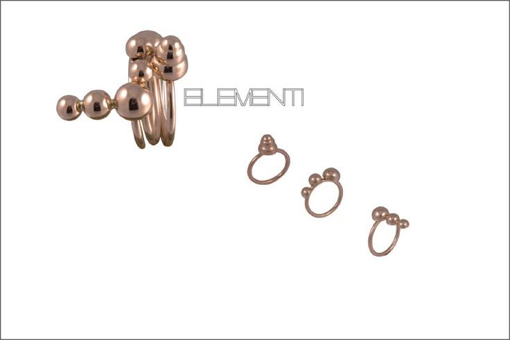 Ring trilogy by sicilian designer Ivana Riggi VDW 2011