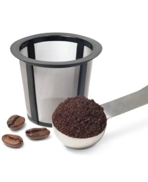 Keurig My K-Cup Reusable Coffee Filter  Personal Life: The k-cups are another great way to be more sustainable. I'm all about recycling, but if I can have a coffee filter I can put my coffee in and reuse the filter I would prefer.