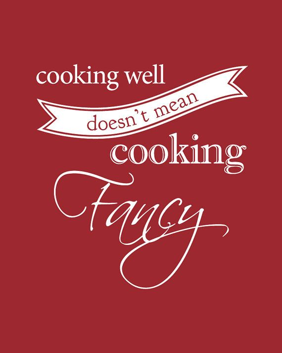 So true...cook from the heart...not to impress but to show love  Motivation to Get Cooking via Hurray Kimmay #cooking #quote