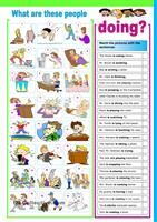 A multiple choice exercise to practise Present Continuous. Hope you find it useful. Have a nice day mada :) - ESL worksheets