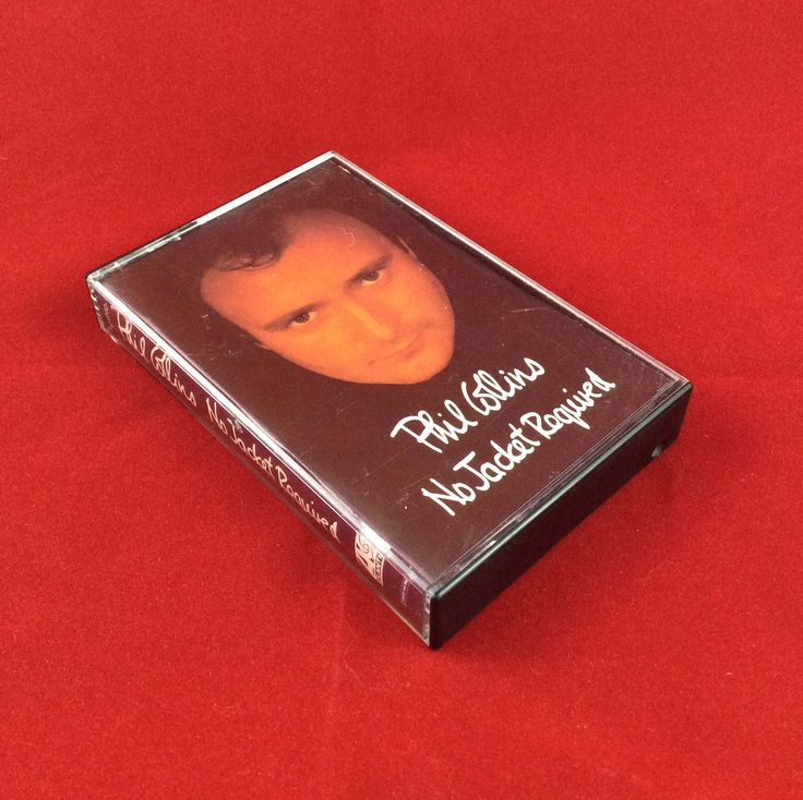 Phil Collins - No Jacket Required - Cassette Tape - 1985 Atlantic Records by TheTimeTravelingPug on Etsy