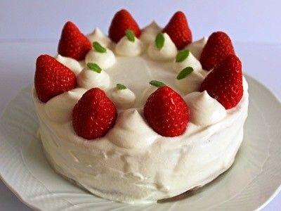 cake 憧れのストロベリーショートケーキ