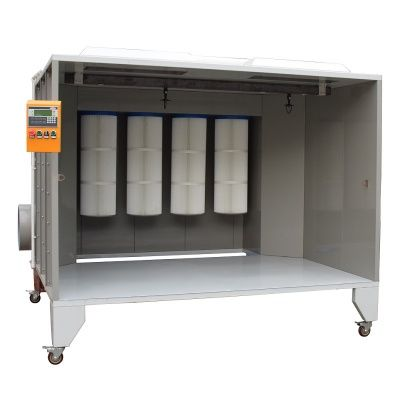 Filter Electrostatic Paint Booth Powder Coating Booth Industrial