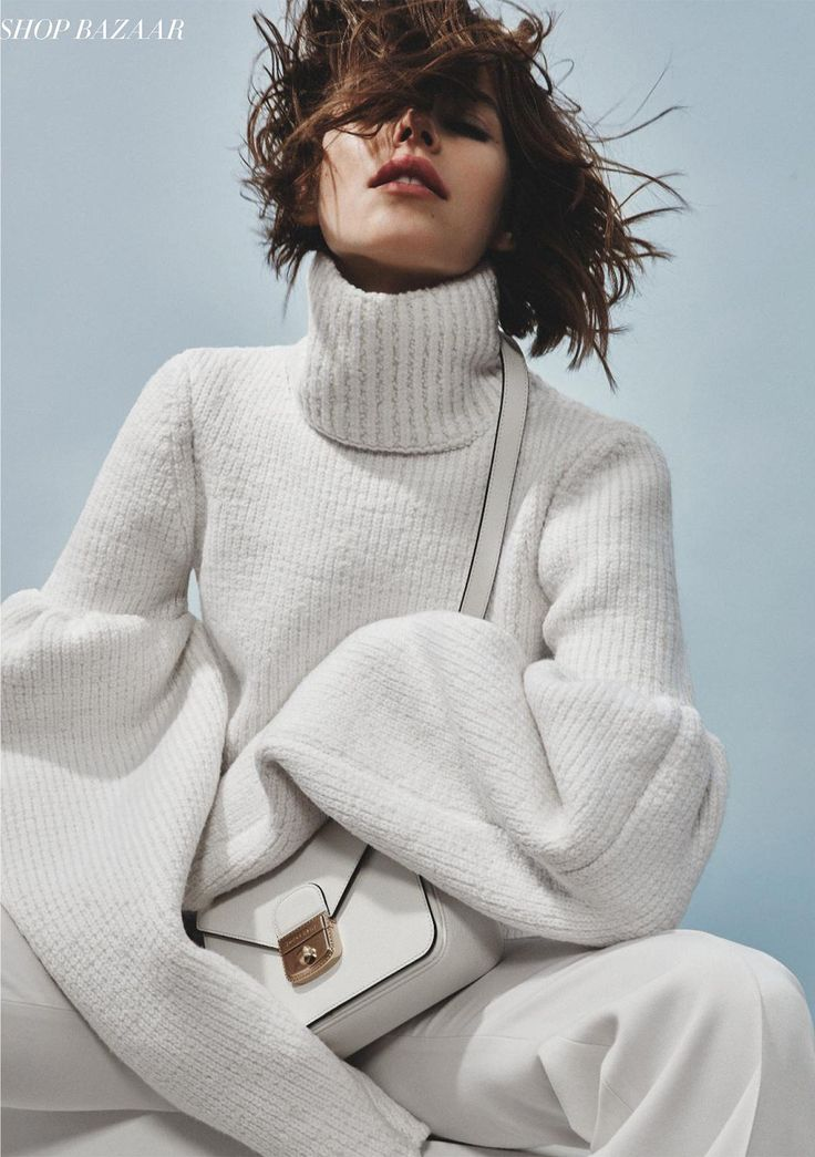 Round Sleeve Jumper | Autumn Winter 15 | Harper's Bazaar Germany | Styling Caroline Lemble | Photography Patrick Haoui