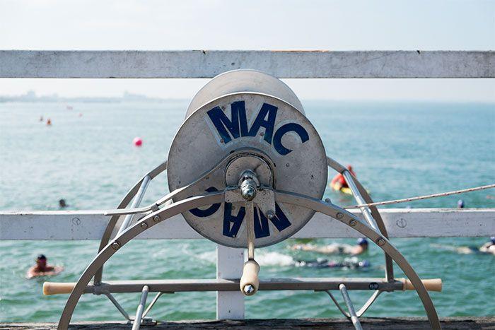 MAC Reel at Port to Park Swim