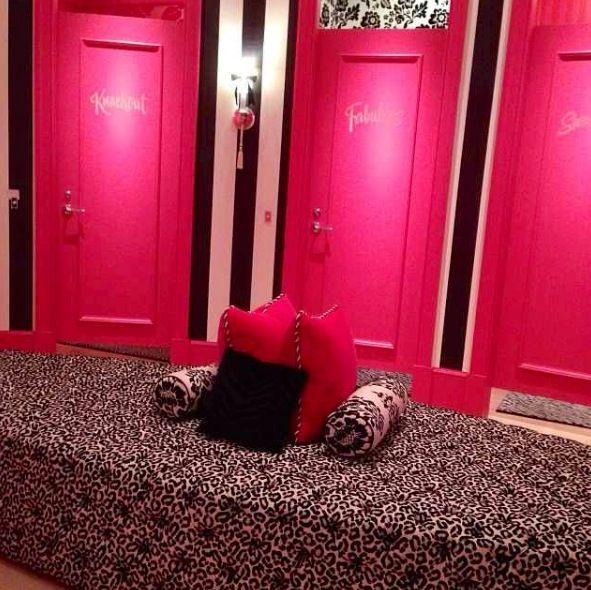 Victoria Secret Dressing Room
