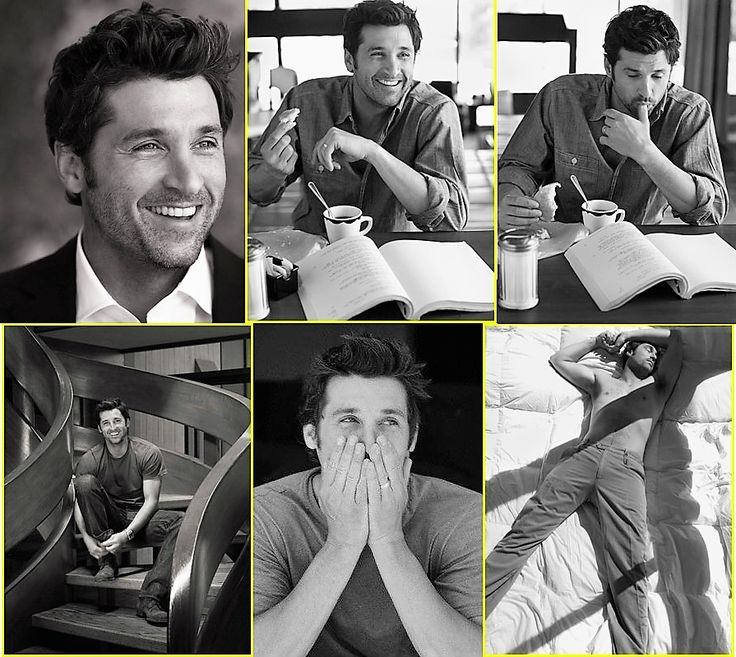 ...Patrick Dempsey the perfect man