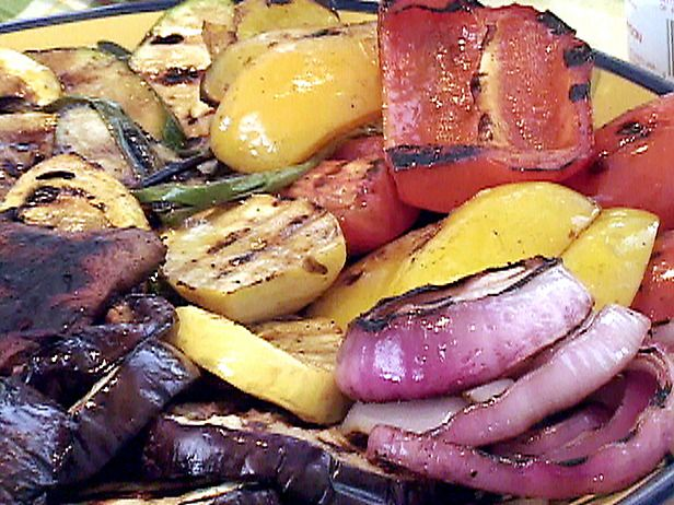 The Lazy Gourmet: Vegetable Grilling Chart for George Foreman or Panini Machines