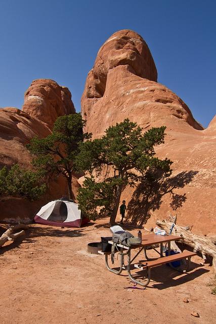 Devils Garden Campground- Moab UT