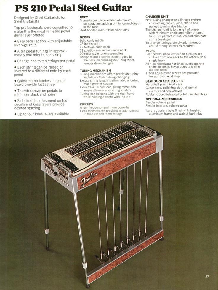 Fender PS210 Pedal Steel Guitar - my dream instrument.