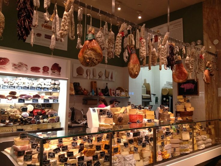 50,000 sq foot Italian superstore Every aisle has some glorious Italian product from olive oils to pasta, cheese, wine and yummy desserts. All gourmet and pretty expensive. Entrances on 23rd Street between 5th & 6th Avenue and on 5th Avenue between 23rd Street & 24th Streets