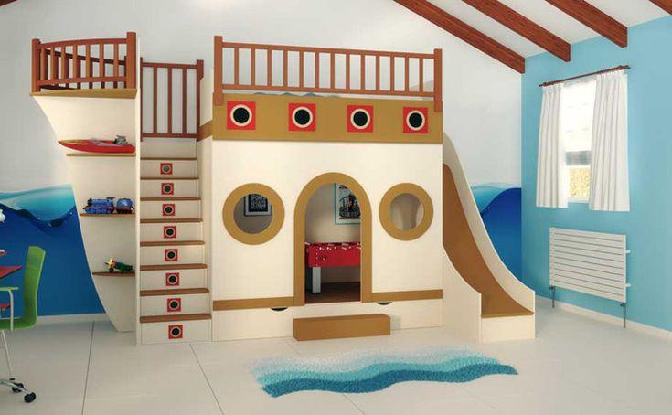 1001 Ideas para la Decoración de Dormitorios Infantiles