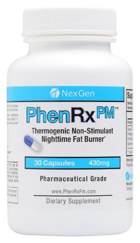 PhenRx PM - PRE-ORDER TODAY!! Stimulant free night-time diet pills for weight loss, appetite suppression, enhanced sleep, and decreased cort...List Price: $59.99 Discount: $21.00 Sale Price: $38.99