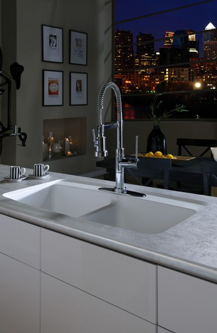 A Wilsonart® HD® Integrated Sink Is A Beautiful And Sophisticated Addition  To Any Kitchen.
