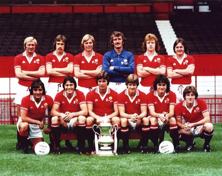Manchester United 1977 FA Cup Winners