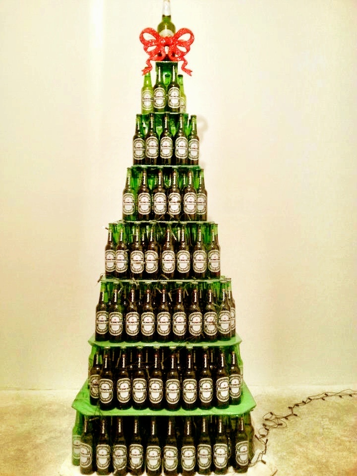 heineken christmas tree christmas tree pinterest. Black Bedroom Furniture Sets. Home Design Ideas