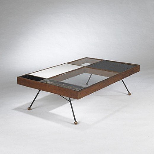 Milo Baughman, Coffee Table for Glenn of California, c1950.