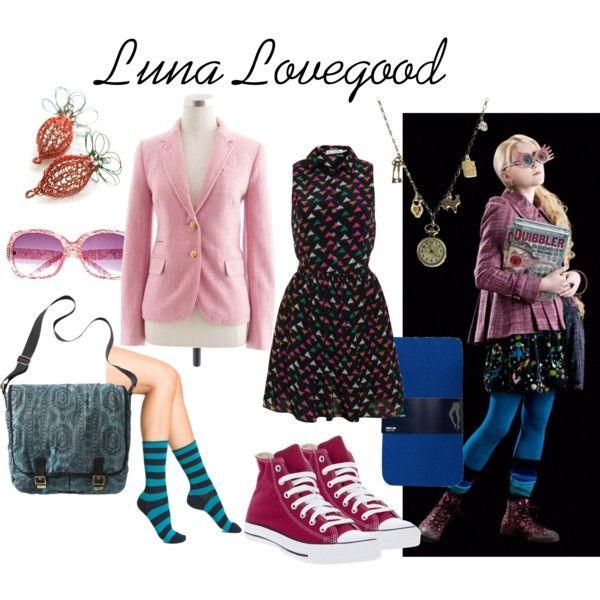 """""""Luna Lovegood"""" by fandom-wardrobes on Polyvore"""