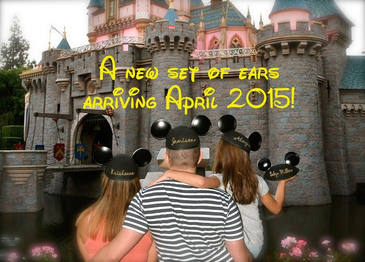 Disney Pregnancy Announcement! Check out the Blog at happy-choices.blogspot.com