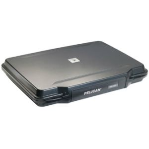 Pelican 1095 Hardback Case Black Lid Foam Only for Up to 15 inch Laptop 1090-020-110, Multicolor