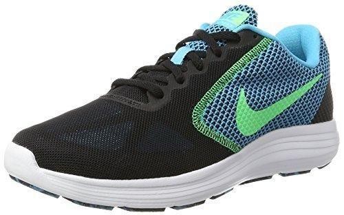 Oferta: 60€ Dto: -30%. Comprar Ofertas de Nike Revolution 3, Zapatillas de Running para Hombre, Negro (Black / Electro Green / Chlorine Blue / White), 44 EU barato. ¡Mira las ofertas!