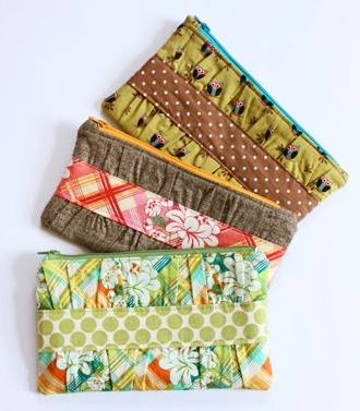 I tried this! Makes a really cute clutch!! Try it!!!! :)