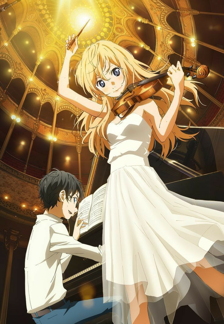 Kumpulan Foto Anime Your Lie In April Anime You Lied Anime wallpaper your lie in april