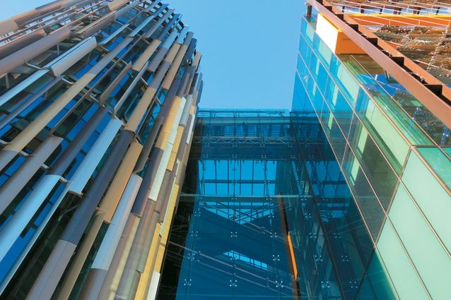 ASB North Wharf building, a total clad facade solution.
