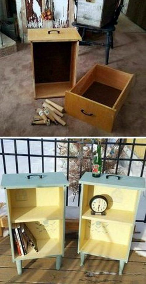 DIY recicla dos viejos cajones