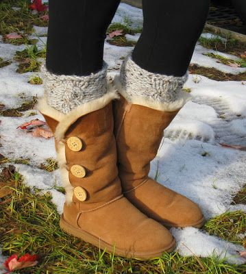Brown winter boots for girls